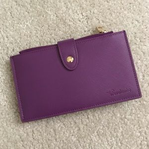 Travelambo Purple Fold Wallet w/ RFID Protection